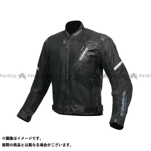 KOMINE ジャケット 2019年春夏モデル JK-137 カーボンプロテクトメッシュジャケット(ブラック/フェニックス) サイズ:3XL コミネ