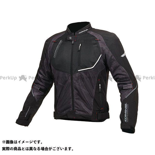 KOMINE ジャケット 2019年春夏モデル JK-139 ウォータープルーフハーフメッシュジャケット(ブラック) サイズ:XL コミネ