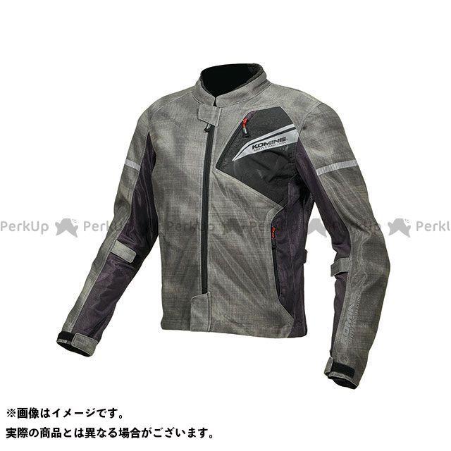 KOMINE ジャケット 2019年春夏モデル JK-140 プロテクトフルメッシュジャケット(スモーク/ブラック) サイズ:L コミネ