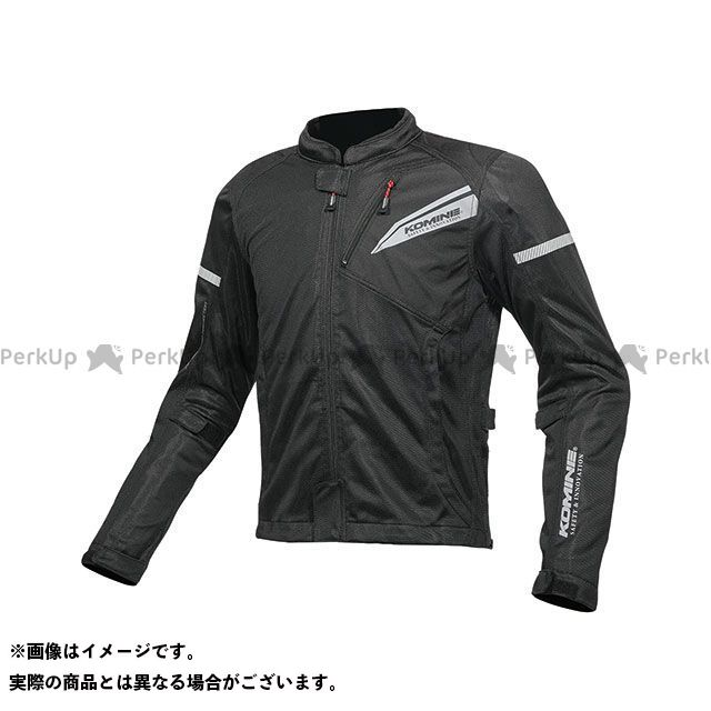 KOMINE ジャケット 2019年春夏モデル JK-140 プロテクトフルメッシュジャケット(ソリッドブラック) サイズ:WM コミネ
