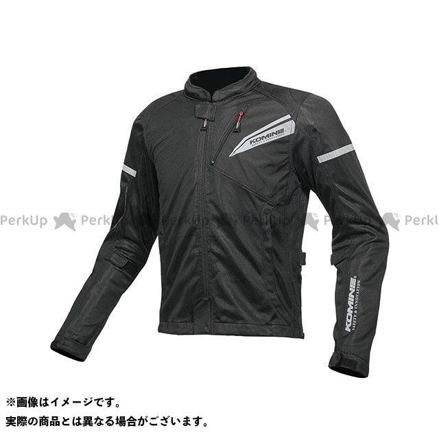 KOMINE ジャケット 2019年春夏モデル JK-140 プロテクトフルメッシュジャケット(ソリッドブラック) サイズ:3XL コミネ