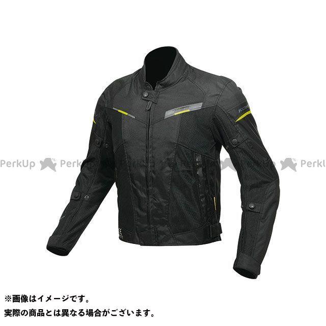 KOMINE ジャケット JK-141 プロテクトハーフメッシュジャケット(ブラック) サイズ:L コミネ