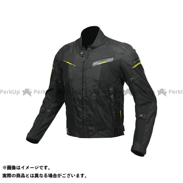KOMINE ジャケット JK-141 プロテクトハーフメッシュジャケット(ブラック) サイズ:4XL コミネ