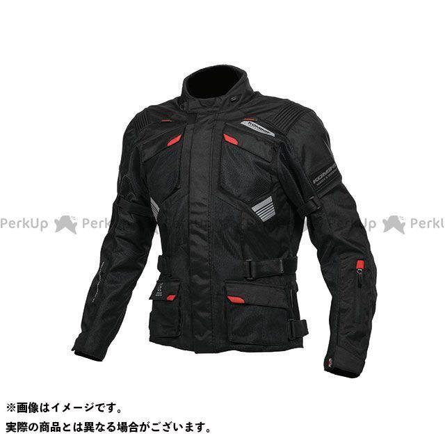 KOMINE ジャケット JK-142 プロテクトアドベンチャーメッシュジャケット(ブラック) サイズ:5XLB コミネ