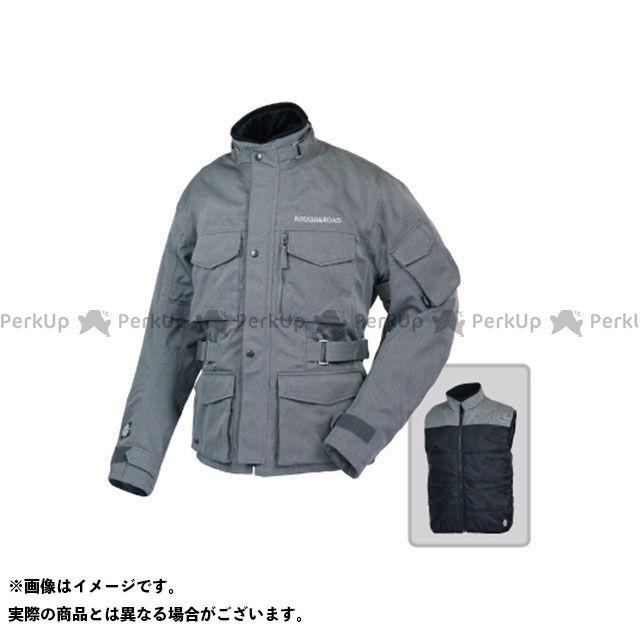 ラフアンドロード ジャケット RR4012 SSFトレイルツーリングジャケットEX HB(ヘリンボーンライトグレー) サイズ:XL ラフ&ロード