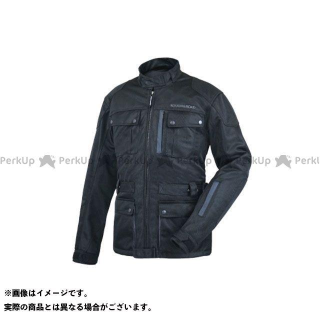 ラフアンドロード ジャケット RR7327 トレックメッシュジャケット(ブラック×シルバー) サイズ:L ラフ&ロード