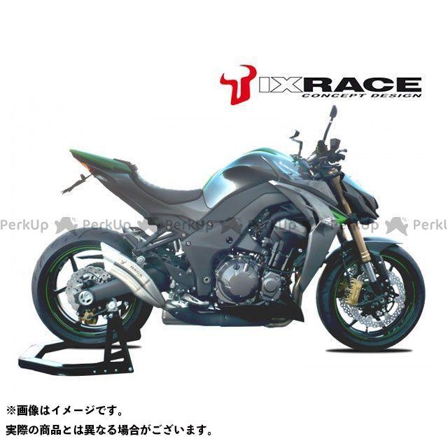 IXIL ニンジャ1000・Z1000SX マフラー本体 KAWASAKI Z 1000 SX 10-15 左右セット Z7 ツインアップ スリップマフラー イクシル