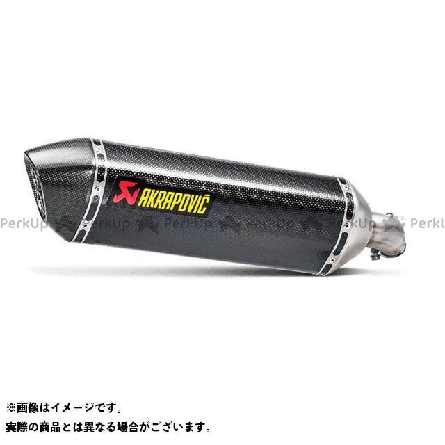 AKRAPOVIC SV650 SV650X マフラー本体 スリップオンマフラー(ヘキサゴナルカーボン) アクラポビッチ