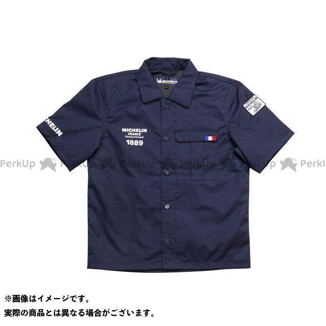 ミシュラン その他アパレル ワークシャツ(ネイビー) ML19108S サイズ:L Michelin 2019春夏モデル