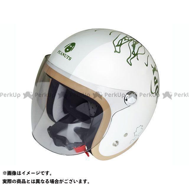 送料無料 AXS アークス ジェットヘルメット SNJ-73 SNOOPY PEEK-A-BOO