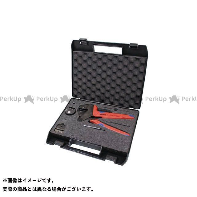 クニペックス ハンドツール 9743-200-MC4 MC4用クリンピングシステムプライヤーセット  KNIPEX