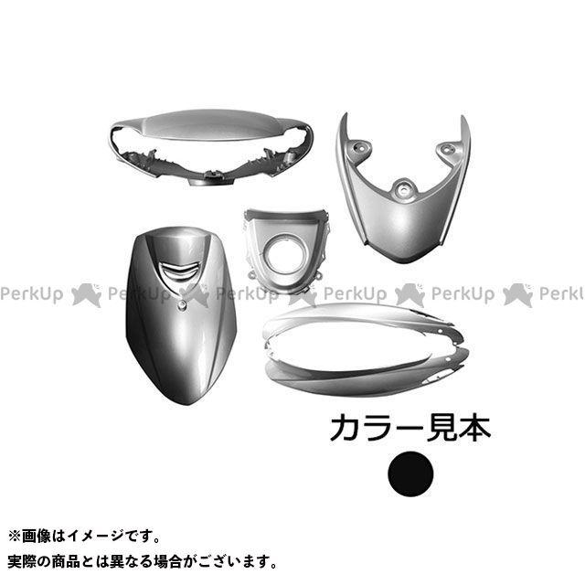 supervalue ジョグ 外装セット 外装6点セット 4stジョグ 3P3(SA36/39J) ブラックメタリックX(0903) ハイマウントカバー付 スーパーバリュー