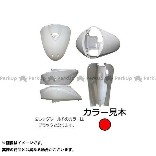 supervalue トゥデイ 外装セット 外装5点セット トゥデイ(AF67) キャンディールーシッドレッド(R-264C) スーパーバリュー