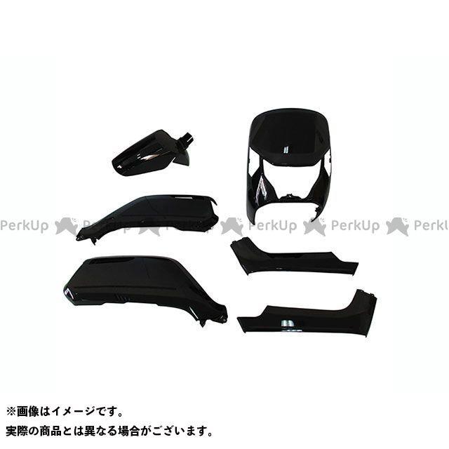 supervalue ダンク 外装セット 外装6点セット DUNK AF74/78 ポセイドンブラックメタリック スーパーバリュー