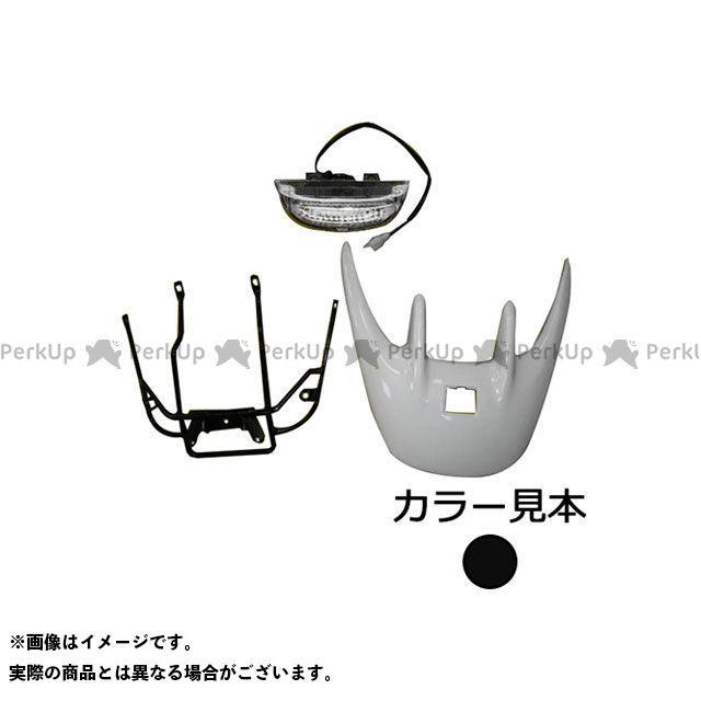 supervalue ライブディオ カウル・エアロ リヤスポイラーアッセンブリ ライブディオ(AF34/35) ピュアブラック(NH-237P) スーパーバリュー