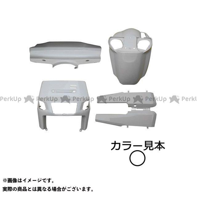 supervalue ギア 外装セット 外装5点セット ギアBA50(4KN/UA03J) ホワイト スーパーバリュー