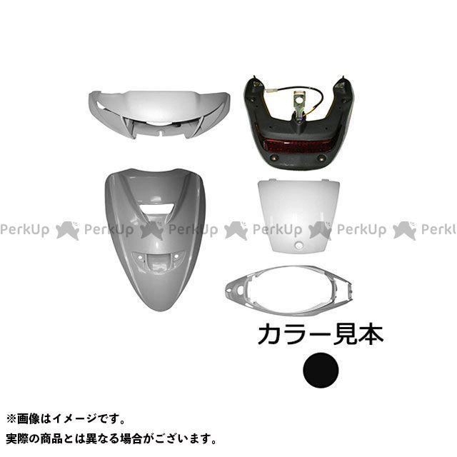 supervalue ジョグZR 外装セット 外装5点セット ジョグZR(3YK/SA13J) ブラック2(004B) ハイマウントアッセンブリ付 スーパーバリュー
