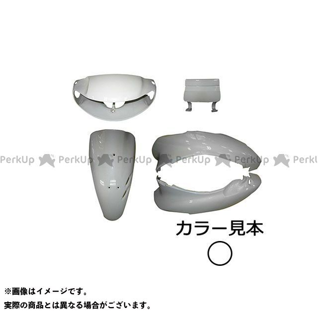 supervalue ライブディオ 外装セット 外装5点セット ライブディオ(AF34) II型 パールシーシェルホワイト(NH-198P) スーパーバリュー