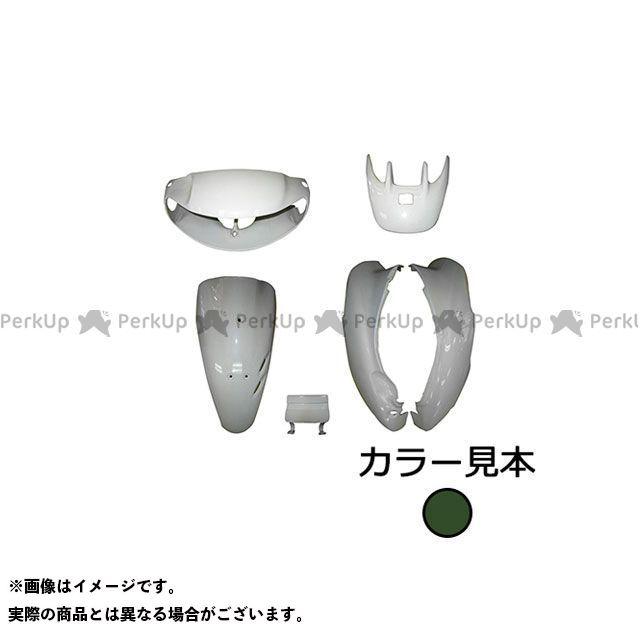 supervalue ライブディオ 外装セット 外装6点セット ライブディオ(AF34) I型 タスマニアグリーンメタリック(G-142M) スーパーバリュー