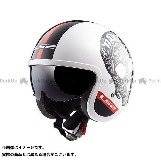 LS2 HELMETS エルエスツー ジェットヘルメット アウトレット品 SPITFIRE(ホワイトブラック) S