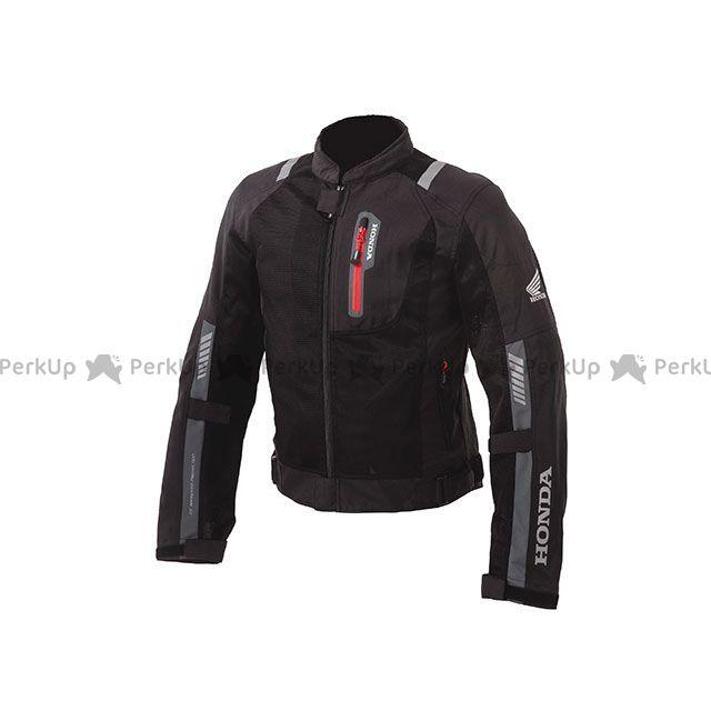 送料無料 Honda ホンダ ジャケット Honda 2019春夏モデル プロテクトライディングメッシュジャケット(ブラック) L