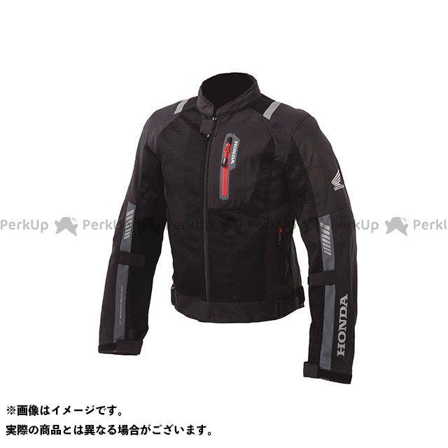 送料無料 Honda ホンダ ジャケット Honda 2019春夏モデル プロテクトライディングメッシュジャケット(ブラック) LL