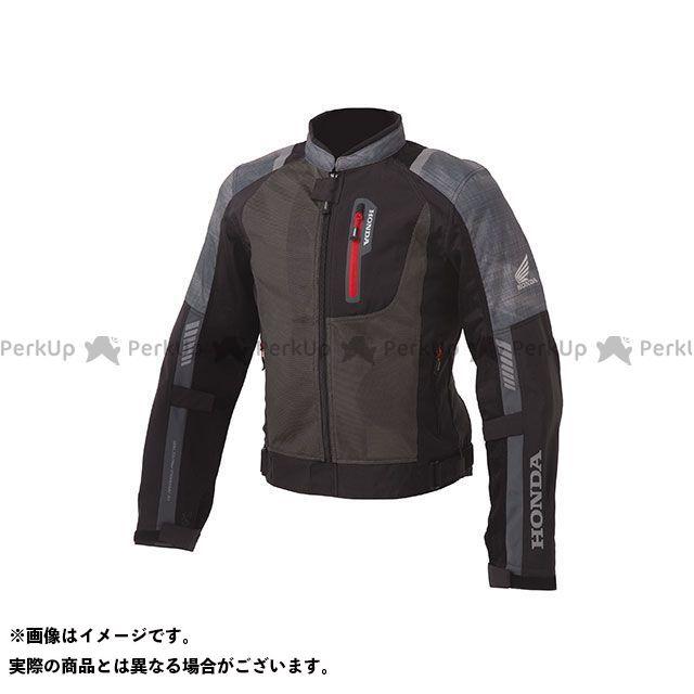 ホンダ ジャケット Honda 2019春夏モデル プロテクトライディングメッシュジャケット(スモークグレー) サイズ:LL Honda