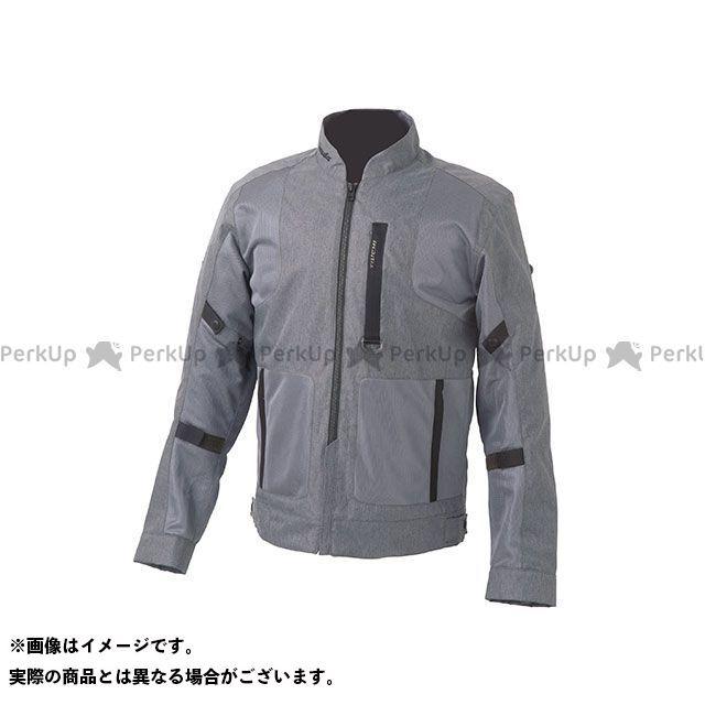 ホンダ ジャケット Honda×RSタイチ 2019春夏モデル ビエントエアージャケット(グレー) サイズ:L Honda