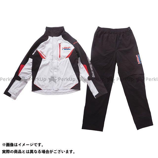 【無料雑誌付き】ホンダ レインウェア HRC 2019春夏モデル プロンプトレインスーツ(プラチナ) サイズ:LL Honda
