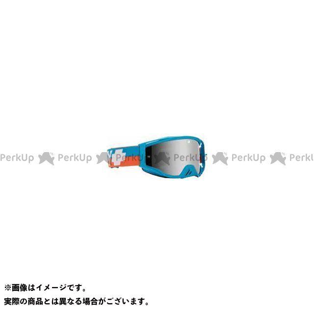 ゴーグル本体 Plus スパイ Foundation SPECTRA+HD AFP) SMOKE BLUE-HD wSILVER モトクロスゴーグル(BOLT CLEAR SPY
