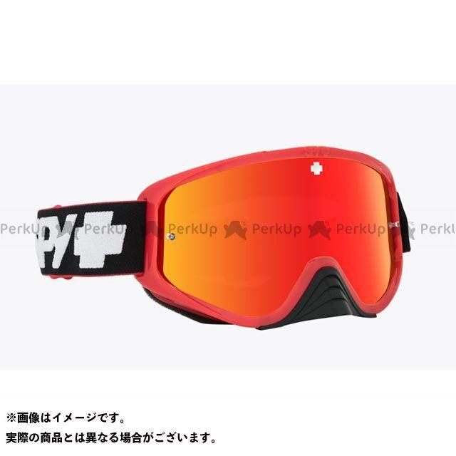 ゴーグル本体 wRED スパイ SPECTRA+HD モトクロスゴーグル(SLICE CLEAR SPY RED-HD Woot AFP) Race SMOKE