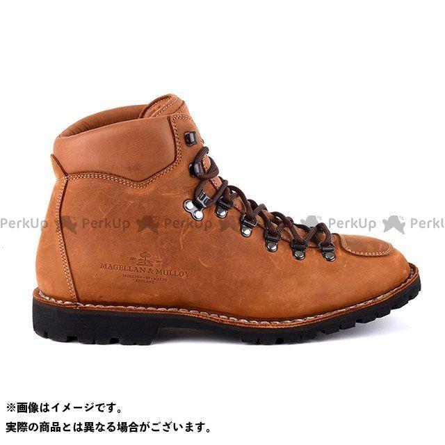 MAGELLAN&MULLOY ライディングブーツ バイカ―ブーツ(ブランディー×ブラウン) サイズ:45インチ マゼラン&ムロイ