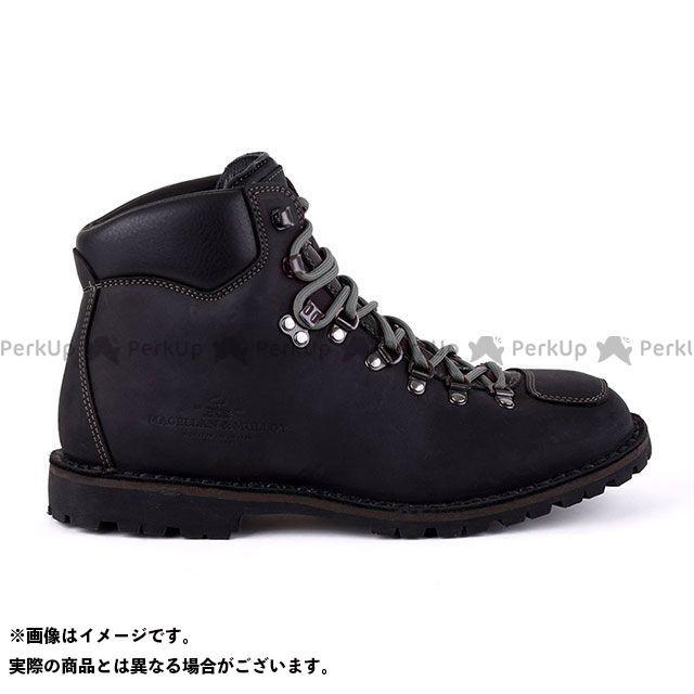 MAGELLAN&MULLOY ライディングブーツ バイカ―ブーツ(ブラック×グレー) サイズ:43インチ マゼラン&ムロイ