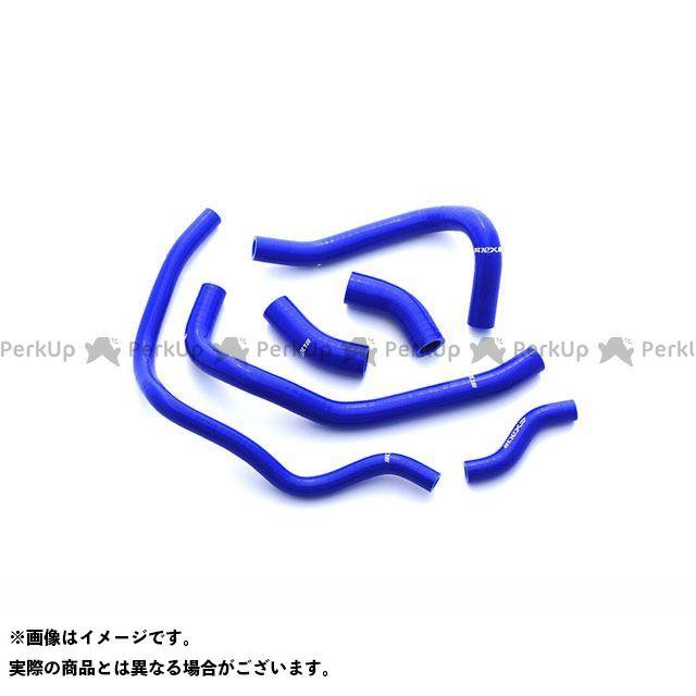NEX Performance YZF-R1 冷却系ホース類 シリコンラジエターホース YZF-R1 15-18 ブルー