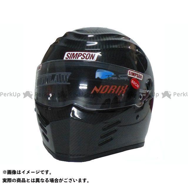 シンプソン SIMPSON フルフェイスヘルメット OUTLAW(カーボン) 60cm