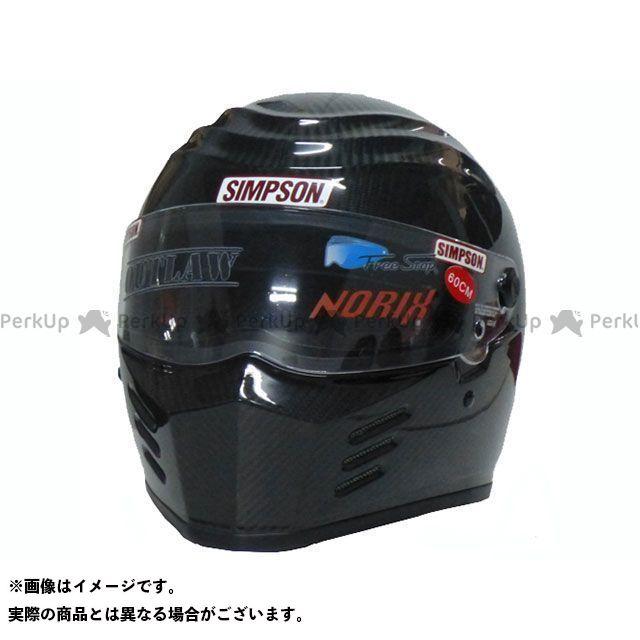 シンプソン SIMPSON フルフェイスヘルメット OUTLAW(カーボン) 62cm