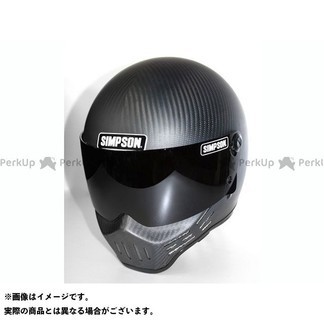 シンプソン SIMPSON フルフェイスヘルメット M30(マットカーボン) 58cm