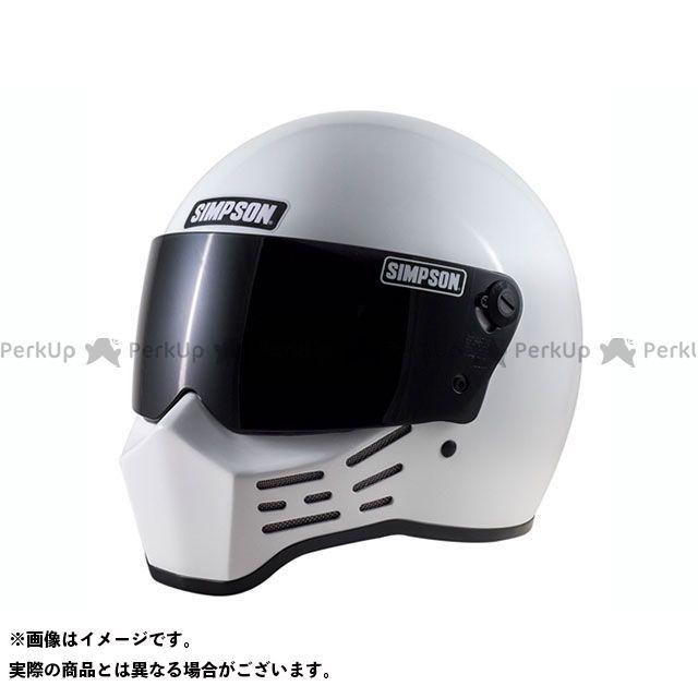 SIMPSON フルフェイスヘルメット M10(ホワイト) サイズ:57cm シンプソン
