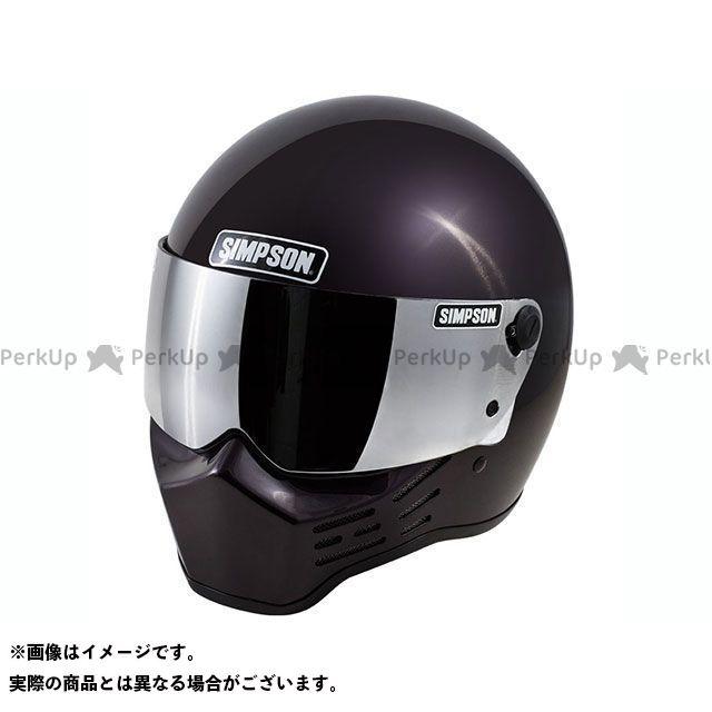 シンプソン SIMPSON フルフェイスヘルメット M10(ボルドー) 59cm