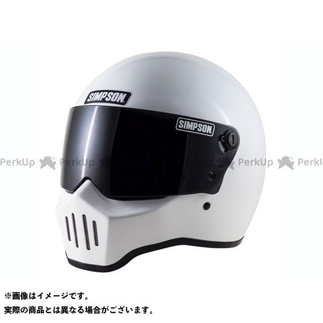 シンプソン SIMPSON フルフェイスヘルメット RX1(ホワイト) 58cm
