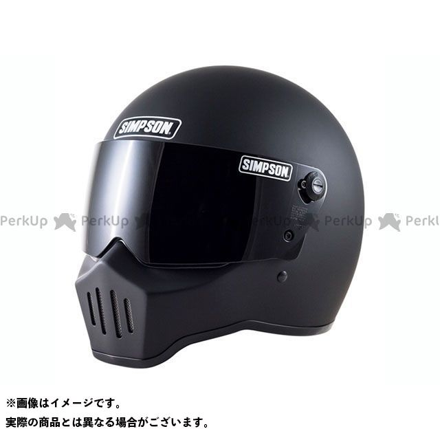 シンプソン SIMPSON フルフェイスヘルメット RX1(マットブラック) 59cm