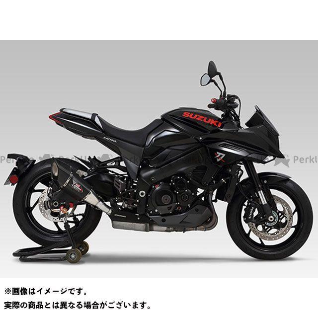 YOSHIMURA カタナ マフラー本体 Slip-On R-11Sqサイクロン EXPORT SPEC 政府認証(ヒートガード付属) SM ヨシムラ