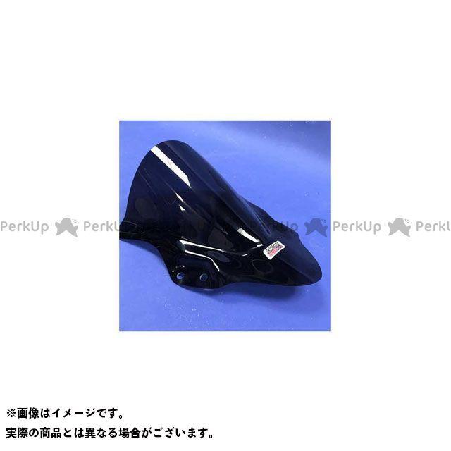 Skidmarx ニンジャ250 ニンジャ400 スクリーン関連パーツ ウィンドスクリーン ダブルバブルタイプ ブルー