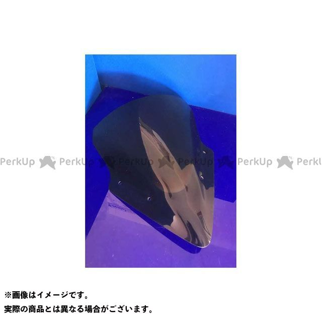 【エントリーで更にP5倍】Skidmarx ニンジャ650 スクリーン関連パーツ ウィンドスクリーン ダブルバブルタイプ カラー:レッド スキッドマークス