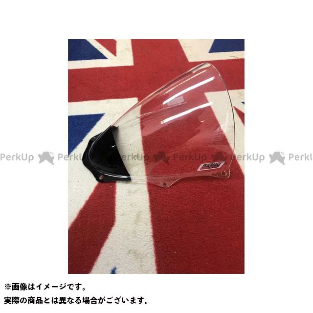 Skidmarx GSX-R1000 スクリーン関連パーツ ウィンドスクリーン ダブルバブルタイプ ブルー