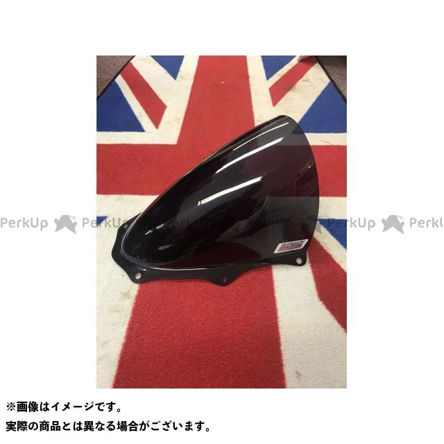 Skidmarx GSX-R1000 スクリーン関連パーツ ウィンドスクリーン TT ROADタイプ ブラック