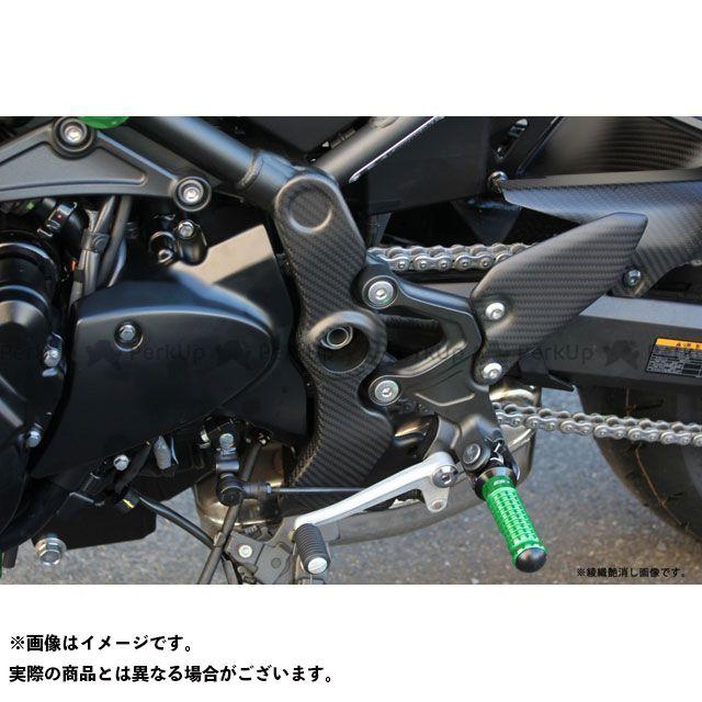 【エントリーで更にP5倍】エスエスケー Z900RS Z900RSカフェ ドレスアップ・カバー フレームカバー 左右セット ドライカーボン 仕様:綾織艶消し SSK