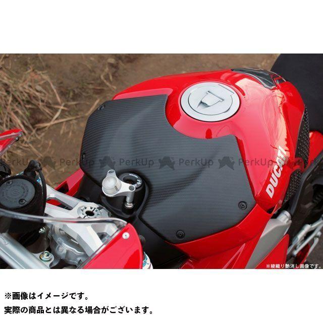 【特価品】エスエスケー パニガーレV4 パニガーレV4S ドレスアップ・カバー タンクトップカバー 仕様:平織艶消し SSK