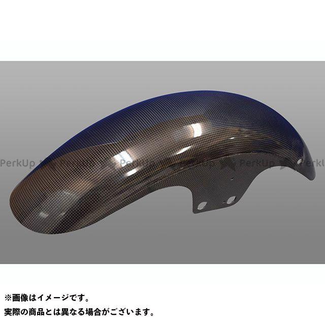 BLESS R'S ゼファー1100 フェンダー フロントカーボンフェンダー ノーマルタイプ カラー:クリア塗装品 ブレスアールズ