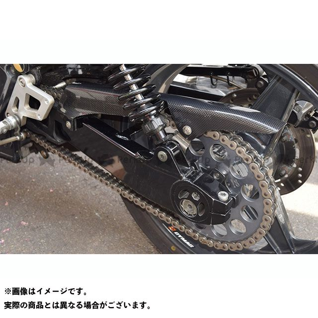 BLESS R'S ゼファー1100 チェーン関連パーツ カーボン チェーンガード(ロータイプ) クリア塗装品